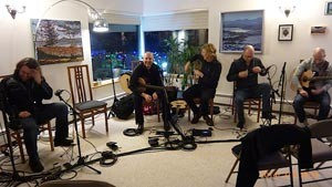 House Concert at UAF Chancellor's: CGT/MG3 Show